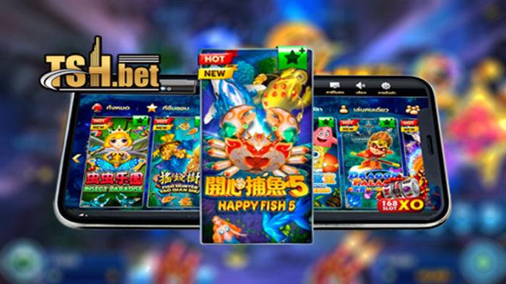 แนะนำเกม HAPPY FISH 5